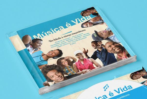 Close up of UNICEF cd