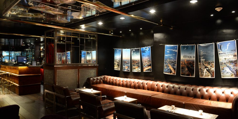 megaro bar london photography exhibition design