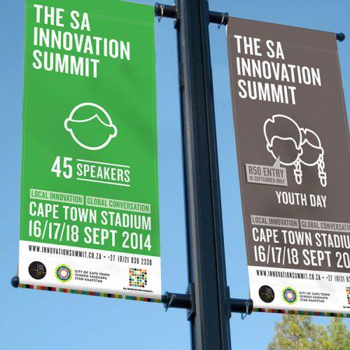 SA Innovation summit branding