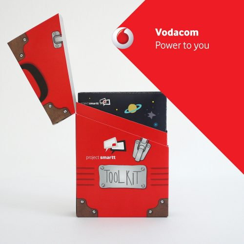 Vodacom project logo and packaging