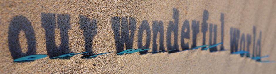 our wonderful world